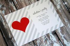 valentine's party invitation by tomkat studio #valentine #party