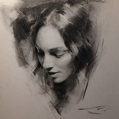 charcoals drawing - Casey Baugh Fine Art
