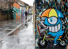 London Street Art / Pez