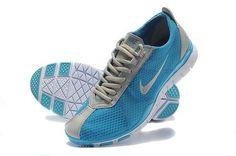 buy popular 06084 0fb89 Nike Free TR Twist Womens Light Grey Blue Running Trainers 443609 726 New Nike  Shoes,