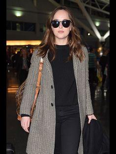 Dakota arriving in NYC 1/29/17