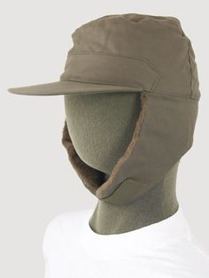 Dutch Cold Weather Hats - Airforce Grey