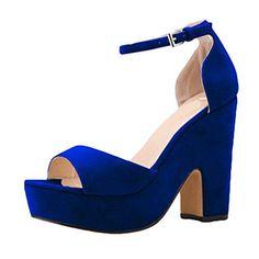 Oferta: 29.25€. Comprar Ofertas de WanYang Sandalias de Cuna de Decoradas Mujer Señoras de las Bombas de los Zapatos de las Cuñas de Tacón barato. ¡Mira las ofertas!