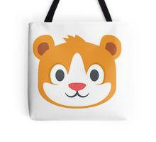 Hamster emoji Tote Bag