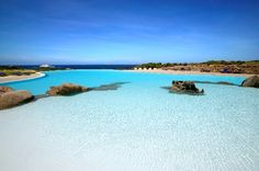 Infinity swimming pool in #Sardinia - Valle dell'Erica Resort