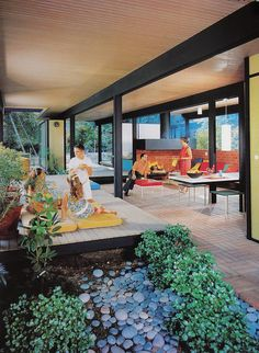 The Mirman House Recreational Pavilion photographed by Julius Shulman. by Mid Century Home, via Flickr