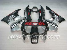 Carenado de ABS de Honda CBR900RR 893 1996-1997 -  Repsol Negro