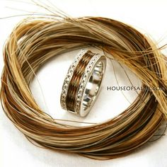 Ring with your own horses hair. Beautiful