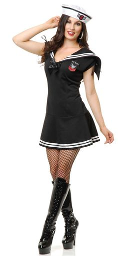 Sexy Sailor Gal Adult Costume,$46.99