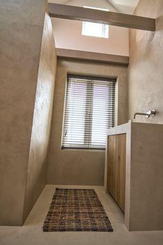 Beton cir de eerste kamer barneveld mooie lichte kleur beton cire badkamer pinterest house - Doucheruimte deco ...