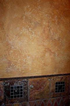 Wallpaper Faux Tumbled Tuscan Tiles Tan Rust Green Ebay
