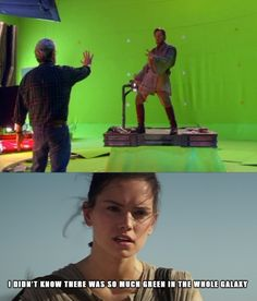 [Spoilers just in case] Rey's thoughts on the prequels
