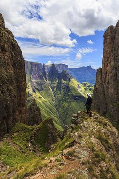 Mweni Pass, Drakensberg http://www.n3gateway.com/things-to-do/hiking-walking.htm