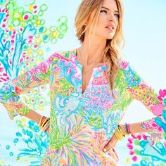 Lovers Coral - Lilly Pulitzer