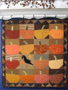 Week Forty Three:  October 25th-Halloween 1.  Carol has a couple vintage quilt tops in need of backing, batting, quilting and  ...