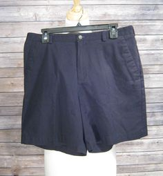 Liz Claiborne Black Shorts Size 14