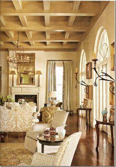 European design influences. Gorgeous! Cote de Texas~cwm