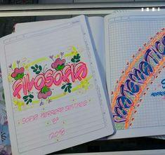 Bullet Journal, Lettering, Writing, My Love, School, Notebooks, Diy, Activities, Amor