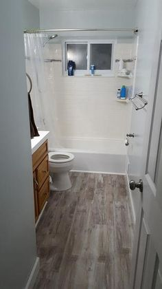 Non Wood Quarter Round For Around The Tub And Shower