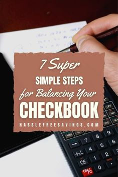 Balancing your checkbook is a really simple, easy task, but it takes lots of discipline and order. Doing it monthly can save you from frustrating. Not to mention expensive situations, such as overdraft charges, mistakes, and fraudulent activity if your account is ever compromised. Keeping accurate records of your transactions will allow you to become familiarized in how you handle your finances. #listofways #simpletips #howto #checkbook #finance #management #hasslefreesavings Checkbook Register, Check Register, Decimal Number, Bank Statement, Payday Loans, Write It Down, Debt Payoff, Working Moms, Booklet