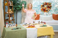 @kymdouglas shared ways you can bring soothing smells into your home with her DIY #aromatherapy scents! Home And Family Tv, Home And Family Hallmark, Hallmark Homes, Essential Oil Spray, Essential Oil Diffuser, Essential Oils, Brown Glass Bottles, Printing Labels, Fall Harvest
