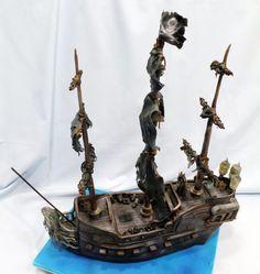 Pirates of the Caribbean : Black Pearl Cake