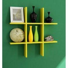 Onlineshoppee Wooden Wall decor Rack Shelf