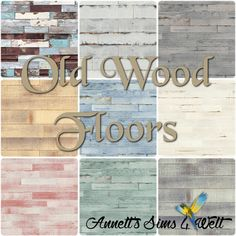 Annett's Sims 4 Welt: Old Wood Floors