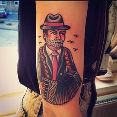Louie Rivers as featured on www.swallowsndaggers.com #tattoo #tattoos #gents