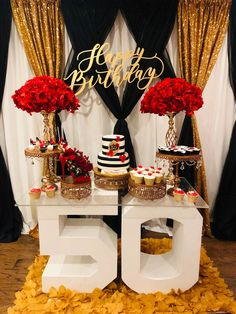 Dessert Tables | Steph's Sweet Creations Desert Table, Dessert Stand, Candy Table, 60th Birthday, Sweet 16, Christmas Cookies, Jazz, Bridal Shower, Tables