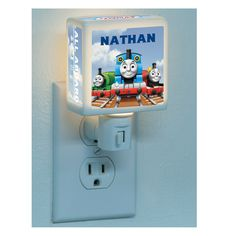 The Official PBS KIDS Shop   Thomas & Friends All Aboard Nightlight personalized. $20.