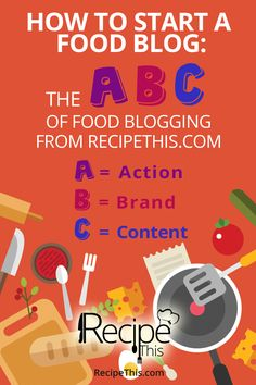 In this blog article you can get everything you possibly need to start a food blog.  Join the world of food blogging today!