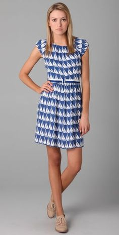 cute sailboat dress. www.shopbop.com