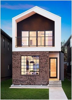 Simple Kashmir Modern Design Best Ideas Exterior Nice Storey Small House Designs Architecture Philippines Interior Plans Uk For Seniors Small Modern Home, Modern Tiny House, Tiny House Design, Cool House Designs, Modern House Design, Modern Homes, Easy Designs, Small House Interior Design, Design Homes