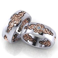Обручальные кольца ERS82