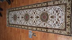 Hand knotted silk rug # Rug No.: P4284 # Quality: 150L (156kpsi) # Size: 2.5x8ft (76x244cm)  # Material: 100% Silk # wholesale Price: $360/piece # If you have any interests, please email to sales@bosicarpets.com        Hand-madecarpet#orienatlrug#oldrug#Kashmirrug#Chinacarpet#Iraniancarpet#boteh#HeratiGul# Isfahan#Tabriz#Qum#Nain#Kashan#Kerman#Bijar#Sarouk#Caucasian#antiquecarpet#bosicarpet