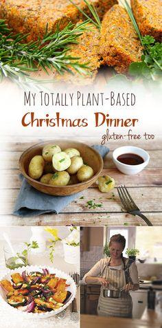 My totally plant-based Christmas. Also #glutenfree #dairyfree #vegan #wheatfree #allergyfree #cleaneating