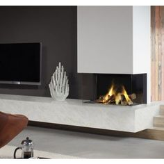 Dru Lugo 80/3 Eco Wave Home Fireplace, My Room, Decoration, New Homes, Indoor, Living Room, Interior, Wall, Rooms