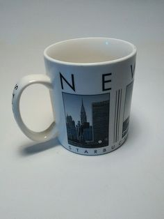 Starbucks Large City Coffee Cup Mug Collector Series New York 2003 in Collectibles, Advertising, Food & Beverage | eBay