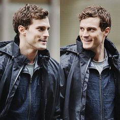 Jamie Dornan as Christian Grey while filming Fifty Shades Of Grey http://everythingjamiedornan.com http://www.facebook.com/everythingjamiedornan