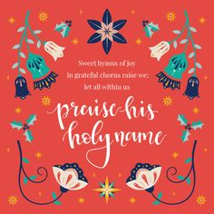 Floral Design, Graphic Design, O Holy Night, Jacobean, Better Love, Wall Art Quotes, Love Is All, Wedding Designs, Holi