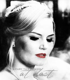 The daughter of snow white and prince charming is a fairy tale princess at last. Fantasy Shows, Outlaw Queen, Tv Show Quotes, Great Tv Shows, Jennifer Morrison, Believe In Magic, Tv Actors, Captain Swan, Emma Swan