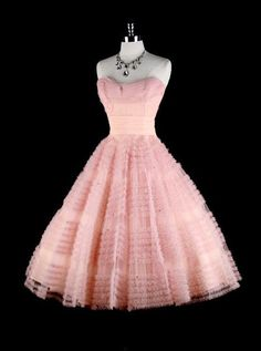 Special Strapless Mid-Calf Pink Lace Ball Gown Homecoming Dress with Sash