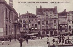 CPA/Nantes/Nantes Centre/Graslin Royale Commerce Bouffay/Nantes_La_Bourse_place_du_Commerce_l-hotel_du_phare_XVIII_siecle