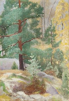 Syksyinen maisema, 1932