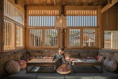 3andwich renovated shang ping village into a modern public space