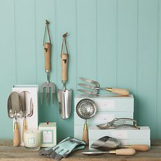 Sophie Conran makes garden tools?  #musthave Burgon & Ball at johnlewis.com
