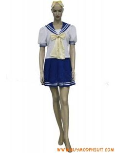 Lucky Star Girl Uniform Cosplay