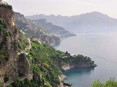 The route: Channel your inner Marcello Mastroianni on the Amalfi Coast along the southern end of the Sorrento Peninsula: Just add Ray-Bans, a pair of Canali pants, and a comely passenger.