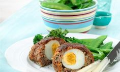 Mini Meatloaf with Hardboiled Egg    This quick and easy recipe makes an egg-citing family dinner or back-to-school lunch. Based on a much-loved family dish, these individual Egg Mini Meatloaves are guaranteed to surprise and delight, with a delicious hardboiled egg hiding inside the scrumptious barbeque flavoured roll. Not only will the kids be egg-cited to find the yummy googy egg, they'll also be getting their fill of nutrients without even knowing it!